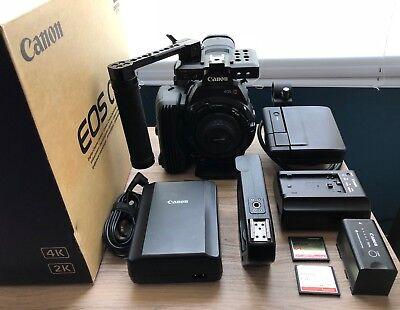 Canon EOS C500 Cinema - EF mount - Original Box w/Extras - Excellent++ Condition