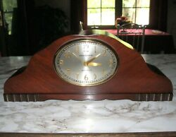 Vintage General Electric  #414  Mantle Clock Westminster Chimes Telechron B3 Mvt