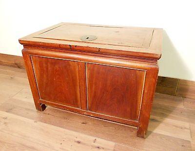 Antique Chinese Treasure Trunk (5552), Zelkova wood, Circa 1800-1849