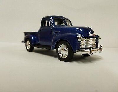 1957 Chevrolet 3100 Pickup Truck Blue 5  Diecast Model   43708D Bl