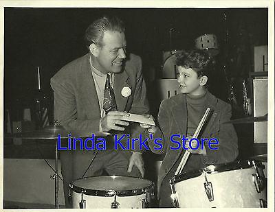 Horace Heidt & Boy Drummer Photo