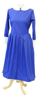 Viktorianisch/1940'S/Kriegszeit/Krankenschwester Damen Blau Nanny - Viktorianischen Zeiten Kostüme