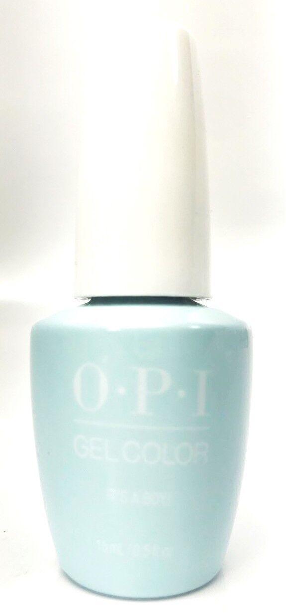 Details About Opi Soak Off Gelcolor Gel Nail Polish It S A Boy T75