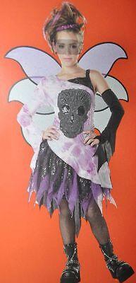 Beautiful Youth Girl Tween SKULL FAIRY Costume Sz Large (10 - 12)  NEW - Tween Fairy Costume