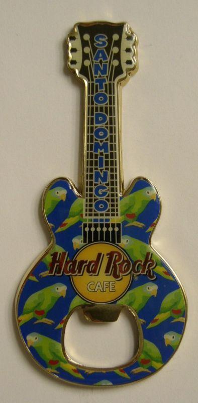 SANTO DOMINGO,Hard Rock Cafe,BOTTLE OPENER MAGNET 2nd