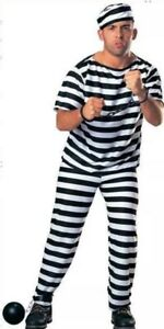Adult prisoner costume dress up men's party NEW  Melbourne CBD Melbourne City Preview