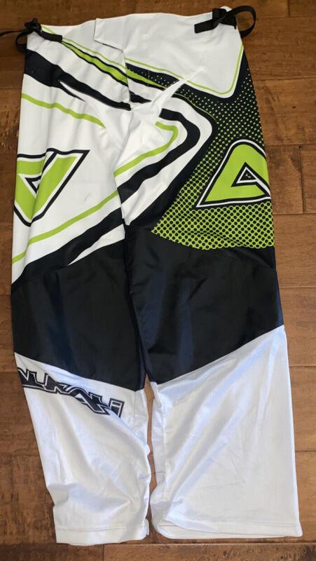 Alkali Senior Roller Hockey Pants M White/Black/ Green