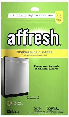Affresh W10282479 Dishwasher Cleaner 6 Tablets - 1 Pack, NEW SEALED