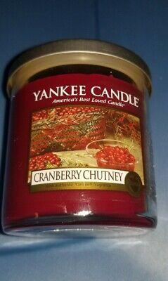 New Yankee Candle CRANBERRY CHUTNEY 7 oz Glass Tumbler