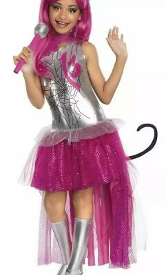 RARE Monster High Girls Catty Noir Halloween Costume - Monster High Dress Up Outfits