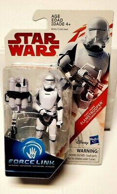New Star Wars The Last Jedi First Order Flametrooper Force Link EE Exclusive NM