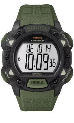 Timex Men's Expedition Digital Shock CAT Resin Strap Watch TW4B09300 NIB