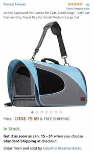 Airline Approved Soft Sided Pet Carrier