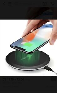 New wireless charging pad universal for phone iPhone Samsung