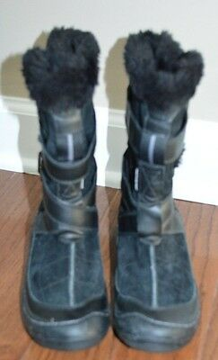 Kyпить NEW Privo Womens Black Suede Winter Boots Clarks Waterproof Size 6M на еВаy.соm