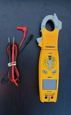 Fieldpiece Sc620 Loaded Clamp Multimeter With Carrying Case And Leads