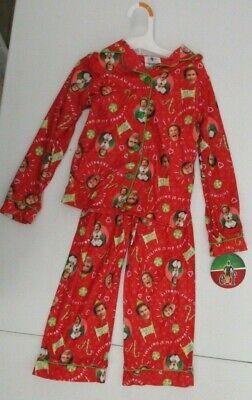 ELF MOVIE CHILDRENS BOYS GIRLS PAJAMAS PANTS TOP SMALL 6 6X NEW NWT CHRISTMAS