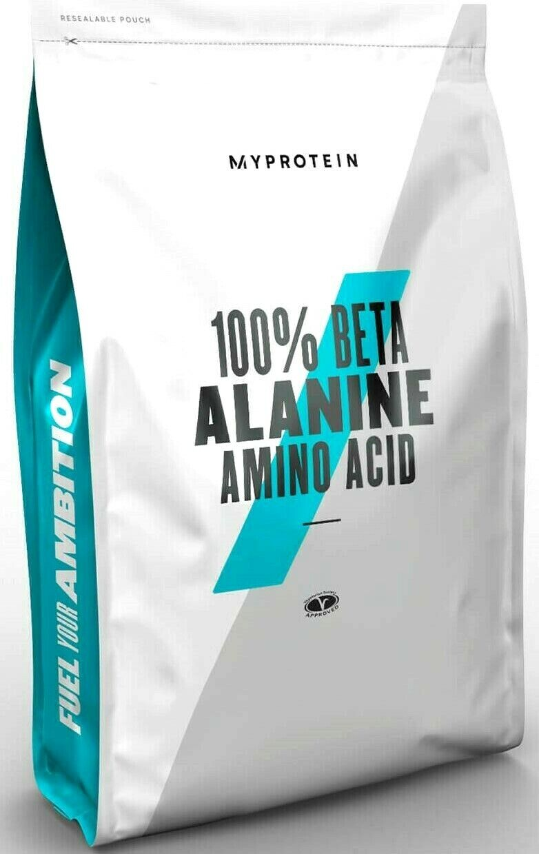MyProtein Beta-Alanin 250g Pulver Beta Alanin Alanine BCAA BCA Aminosäure Amino