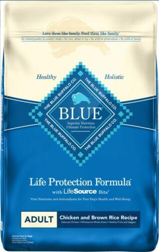 Blue Buffalo Life Protection Formula Natural Adult Dry Dog Food. 30 LB