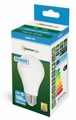 18W LED E27 Leuchtmittel LED Lampe kaltweiß Birne Markenqualität 1900lm A+