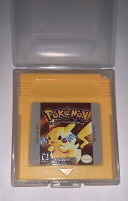 Pokemon Yellow Version GBC Gameboy Color  Reproduction SHIPS FAST FROM USA