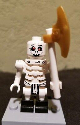 Lego Ninjago Skeleton Army Minifigure Bonezai From Sets 2115,2258 Mini figure