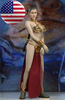Star Wars-slave Leia (1/6 Princess Leia Organa Star Wars Slave Figure Doll Full Set USA IN STOCK )