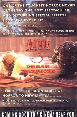 wall decor for sale A NIGHTMARE ON ELM STREET (TEASER)vintage movie poster
