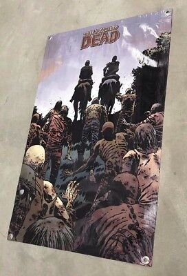 Walking Dead horse action figure poster zombie banner game comic book toy B105