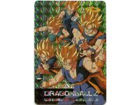 Goku Gohan Goten #314 Prism Foil Japanese Dragonball Z Card Hero Collection