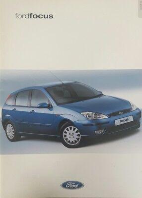 Ford focus brochure 2001