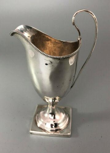 George III Silver Helmet Shaped Cream Jug Solomon Hougham London 1794 104g EZX
