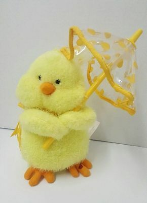 Spring Plush Chick Dances And Sings Raindrops Keep Falling On My Head From Avon