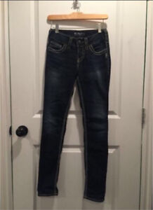 Women's silver jeans - size 25 perfect condition