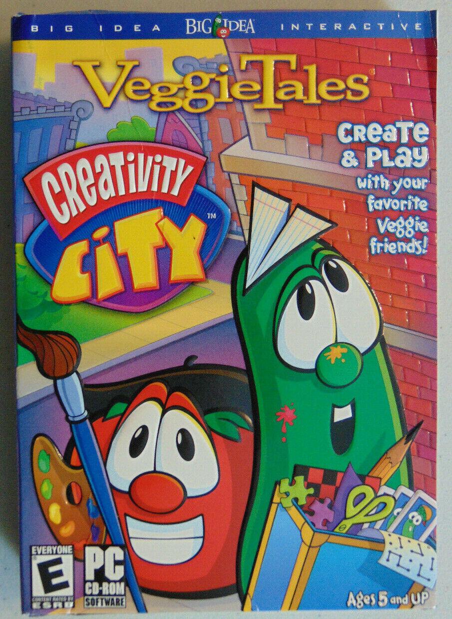 Computer Games - VeggieTales: Creativity City, Christian Computer Games & Activities, PC CD-ROM