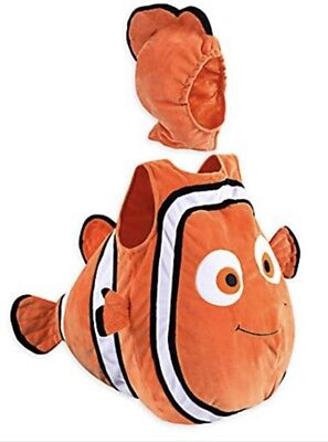Disney Store Baby Finding Nemo 2 Pc. Stuffed Plush Halloween Costume Size 3-6 - Nemo Halloween Costume Baby