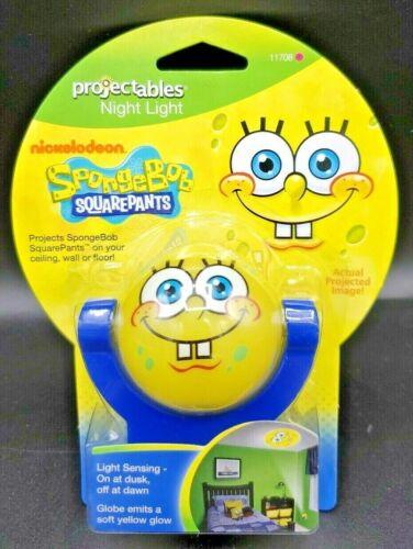 SpongeBob SquarePants Projectables Night Light NIP Light Sensing 3-Ft Projection