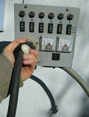 Emergen Switch 6-5000 Manual Generator Transfer Switch Panel 120 20a