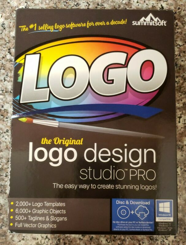 Logo Design Studio Pro by Summitsoft Brand New & Sealed