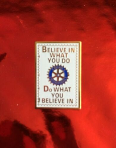 B) Do What You Believe In Pin Rotary International 1993-94