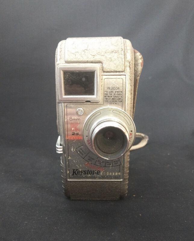 Old Vtg Collectible Keystone 8mm K-25 Capri Movie Camera