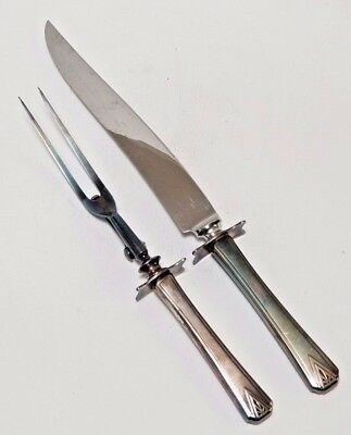 Community 2 Prong Carving Turning Fork & Carving Slicing Knife Guard Deluxe Deluxe Carving Fork