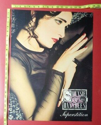 """SIOUXSIE and the BANSHEES,18x24"""" POSTER,original,Record company promo"""