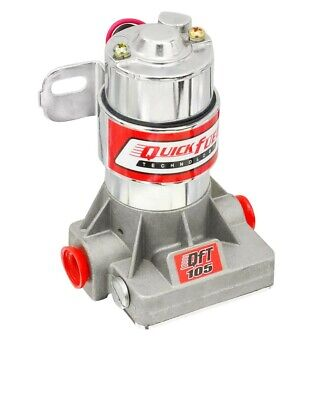 Quick Fuel Technology 30-105QFT Universal Electric Fuel Pump 105 GPH 7 PSI - Red