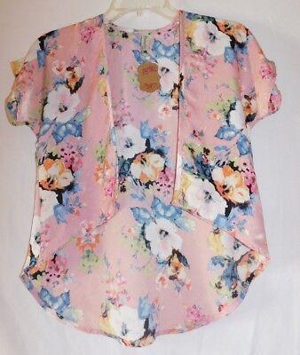 Pomelo Pink Floral Kimono Toddler Size 3T ](Toddler Kimono)