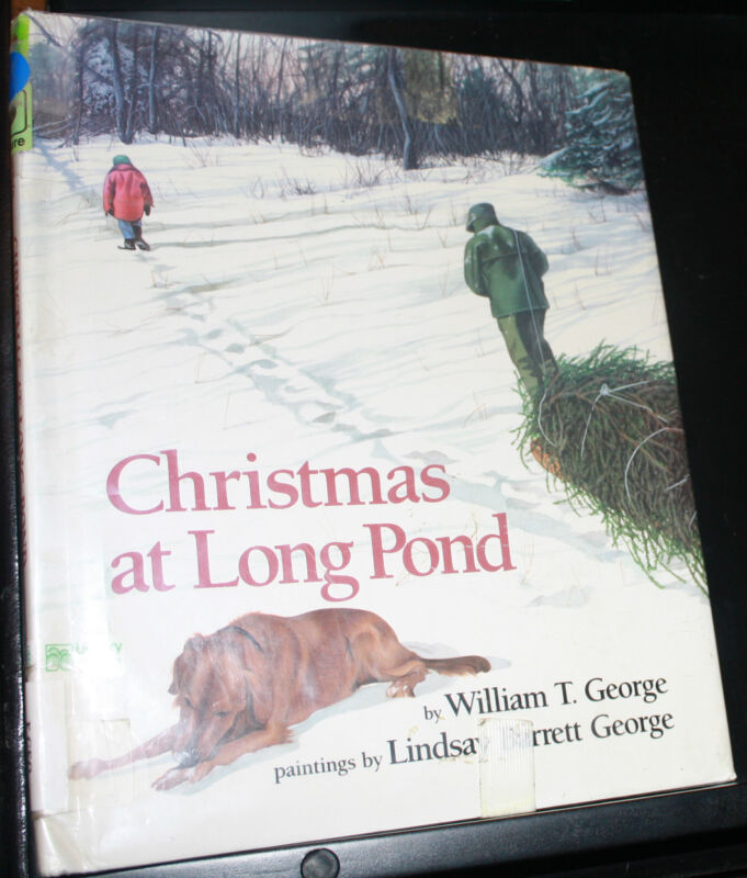 Christmas at Long Pond by William T. George, Hardcover-RARE hard to find Edition