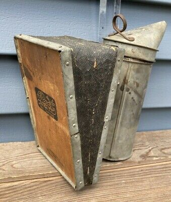 Vintage A.i. Root Quality Bee Supplies Bellows Antique Hive Smoker Ohio