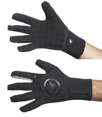 ASSOS rainGlove evo S7 Regenhandschuhe - rainGlove blackvolkanga Größe S