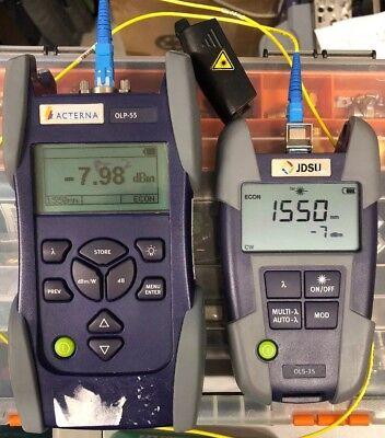 Acternajdsu Olp-55 High Power Optical Power Meter 26dbm