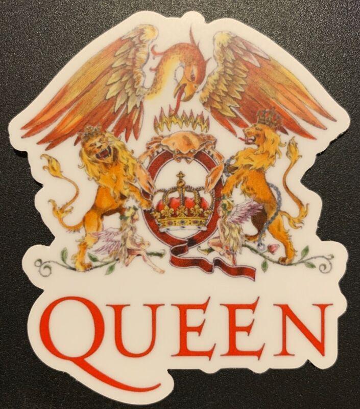 "Queen Freddie Mercury Sticker For Skateboard Car Laptop Audio Slave Decal 3"""